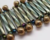 FINAL CLEARANCE Elegant Envoy Ladder Stitch Bracelet