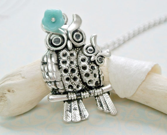 Owls Necklace