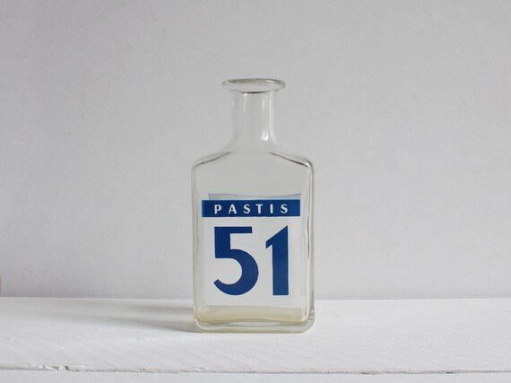 Vintage Pastis bottle, What else would a Frenchman drink