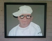 The Hangover Acrylic on Canvas Framed, Man in Glasses