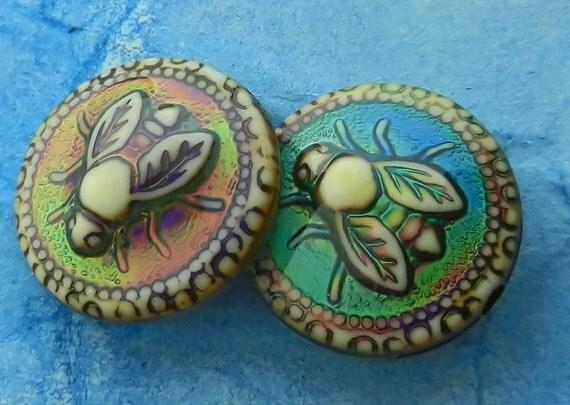 Honey Bee Mirage Color Change Mood Beads