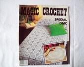 Special DMC Issue number 5, Magic Crochet Magazine, Vintage Crochet Pattern Book, Thread, Doilies, Doily Patterns, Thread Crochet patternss