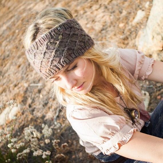Reversible Headband Knitting Pattern : Items similar to KNITTING PATTERN Reversible Smocked Head ...
