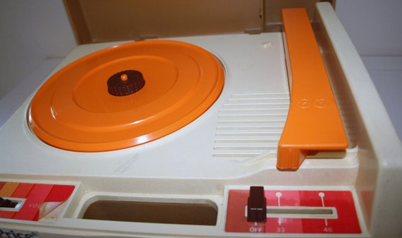 1974 Fisher Price Record Player