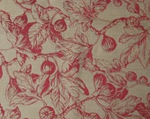 Pierre Deux French Country Fabric Sample in Brick