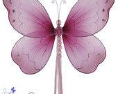 "11"" nylon Butterfly decoration - choose your color"