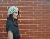 Breezy Slouchy Hat in Oatmeal