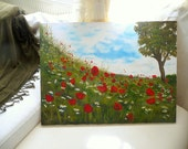 Flowers and  Dreams-Original Painting 31x23 inches