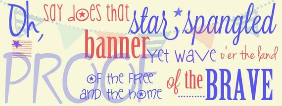 Star Spangle Banner Facebook Cover