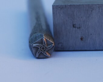 Starfish Design Stamp-Metal Stamp LARGE-Exclusive To Me-New 3/8 in.-Metal Stamping Tool-Perfect for Metal Stamping and Metal Work