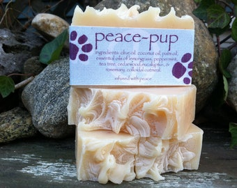peace pup peace soap