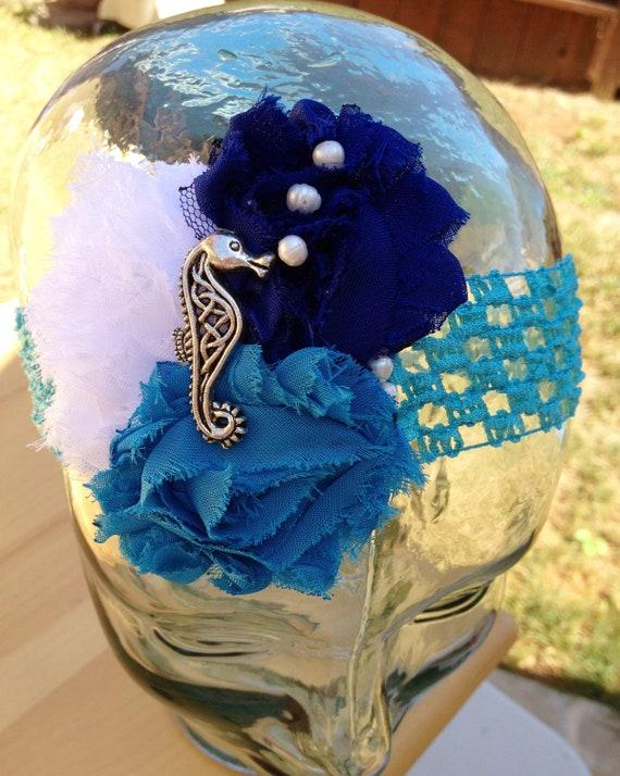 SALE... Seahorse Crochet Headband.... Under the by ...