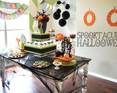 Halloween Party PRINTABLE Spooktacular Halloween (INSTANT DOWNLOAD) by Love The Day