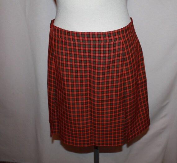 Plaid Me Away Adorable handmade spansish plaid school style skirt