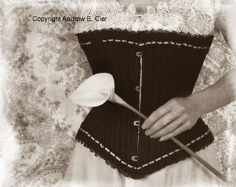 Elizabeth Corset Nostalgic PHOTOGRAPH by Andrew E. Cier