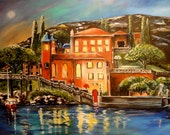Reflections of Italy 36 x 24