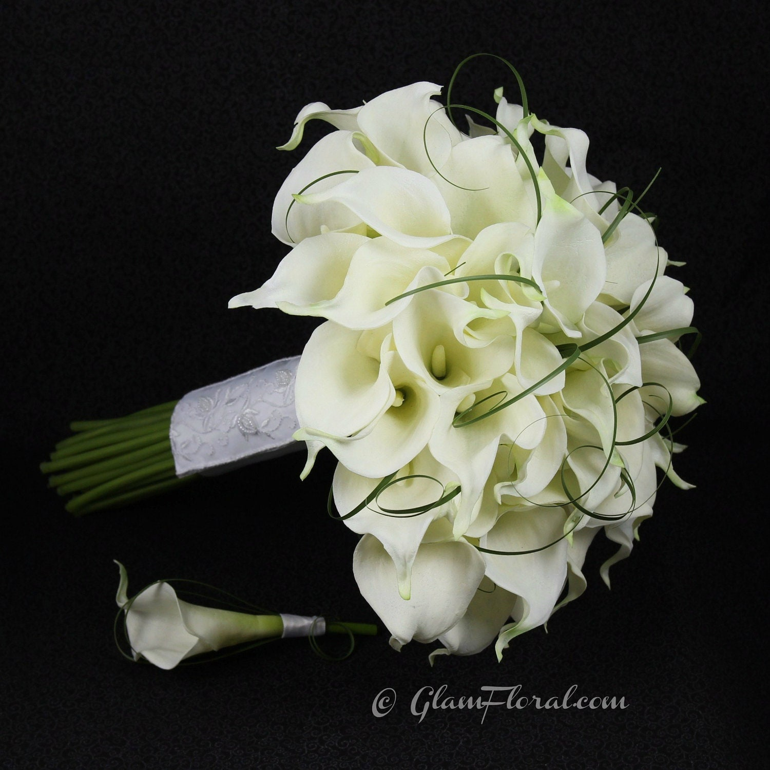 Wedding Flowers Lilies : Wedding bouquets with calla lilies