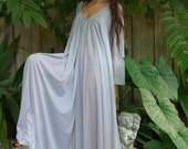 RESERVED For Skippy G  Long Sleeve Peasant Gown in Cotton