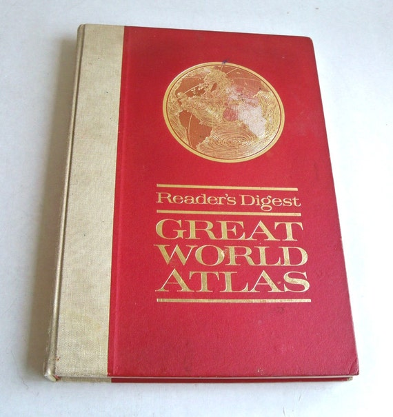 Reader's Digest Great World Atlas 1963