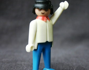 Hello Playmobil. Vintage 1974 toy. Guys stocking stuffers gift idea.