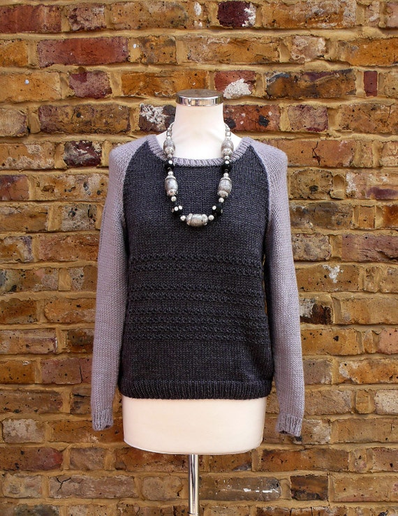 The Boyfriend sweater Knitting pattern