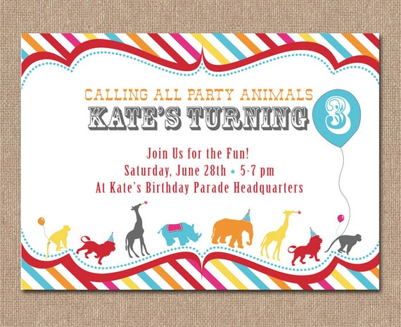 Baby Shower Invitations Animals as great invitations layout