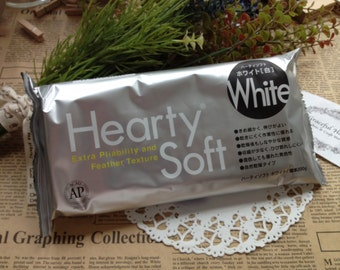 FREE SHIPPING - Hearty Soft Super Lightweight Modelling Clay 200g - Extra Pliability and Features Texture - Air Dry Paper Clay