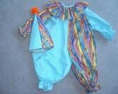 Child's Clown Costume