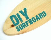 DIY Paint Your Own Surfboard 3 Sizes Shelf Add On