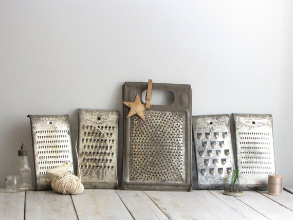 instant collection of vintage graters