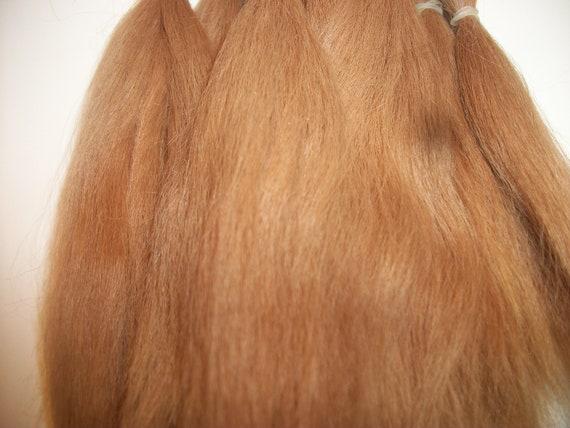 1/2 oz. Combed Suri Alpaca  Fiber / doll hair / fiber artist  / Re- born / Reroot / (F-13)