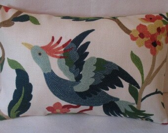 LAST ONE One 12 x 16 Lucy  Lumbar Pillow Cover