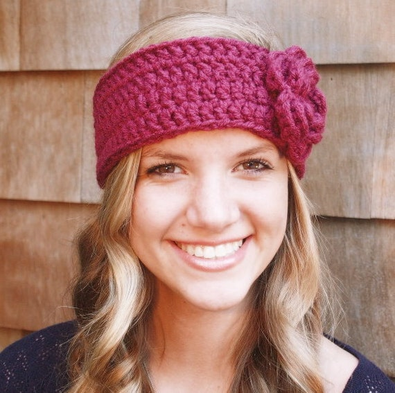 items similar to winter accessories crochet headband with items similar to winter accessories crochet headband with