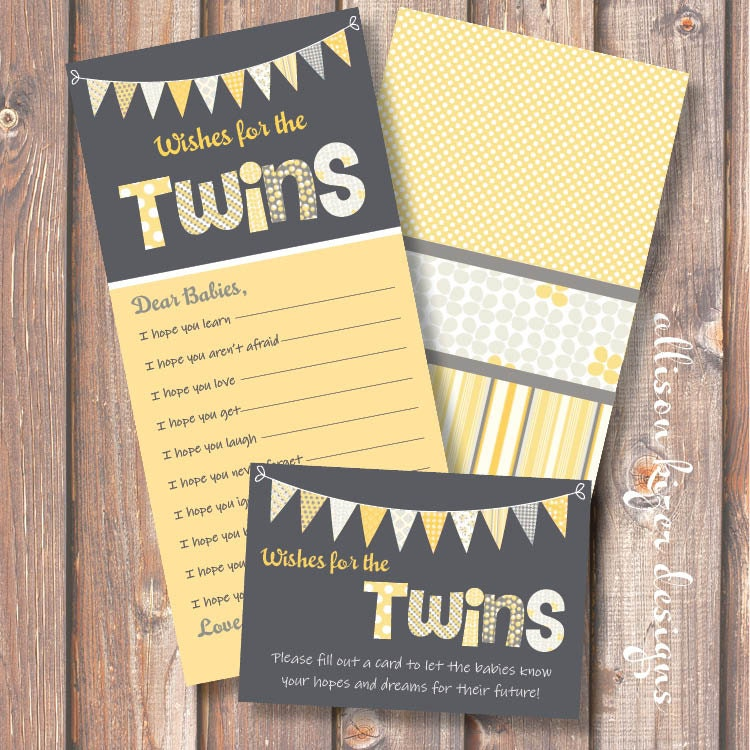 printable baby shower game funky letters twins wishes for