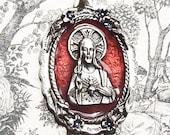 Large Sacred Heart Medal