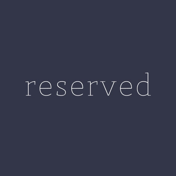 reserved for danielle