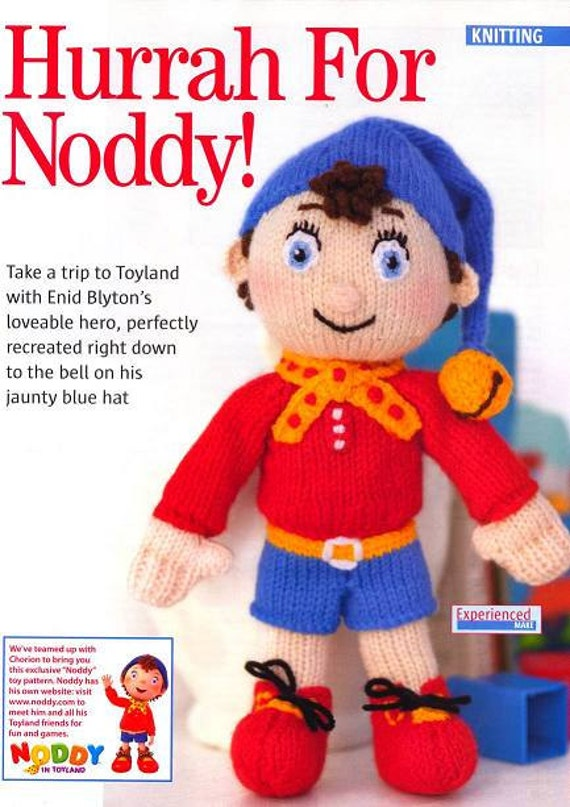 Noddy Doll Knitting Pattern : NODDY ToY DoLL KNiTTING PaTTERN ENID BLYToN NODDY