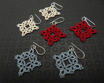 Diamond Lace Earrings