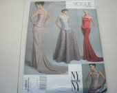 Pattern Ladies Skirts and Corset Tops Sizes 12-14-16 Vogue 2810A