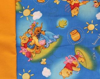 Book Sling Inspiration board - Winnie the Pooh - nursery bedroom decor storage