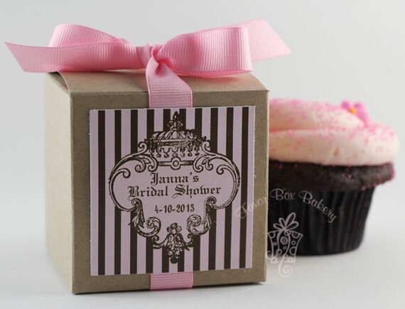 CUPCAKE COUTURE -Cupcake Mix Party Favors for Weddings, Baby Showers, Bridal Showers, and Bachelorette Parties- Set of 12 Favors