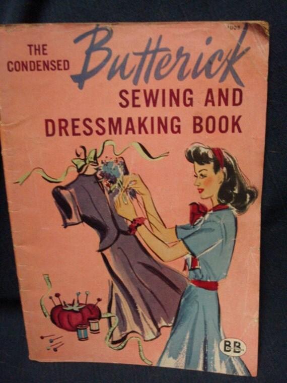 Butterick Sewing & Dressmaking Book 1944