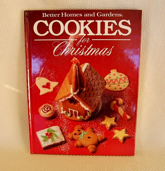 Vintage christmas cookie cookbook better by funkyjunkyvintage - Better homes and gardens cookbook 1968 ...