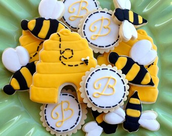 Bumble Bee Sugar Cookies
