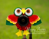 Lens Bling - Red Tropical Parrot - Ready to Ship