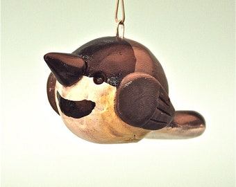 Chickadee Christmas Ornament