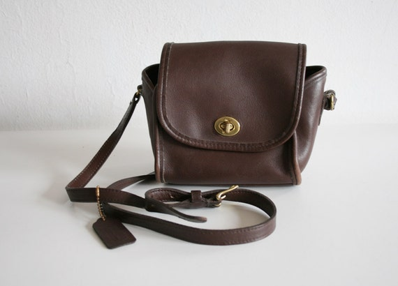 SALE Small Brown Coach Satchel