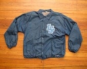 mens vintage Russell athletic insulated coaches jacket