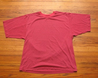 mens made in the USA russel athletic striped t shirt