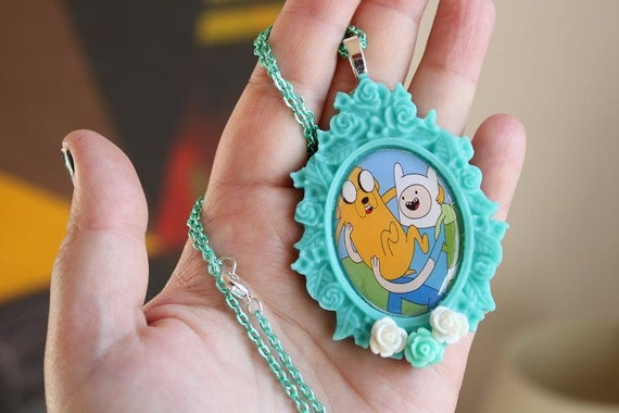 Adventure Time - Jake & Finn - BFF's Necklace